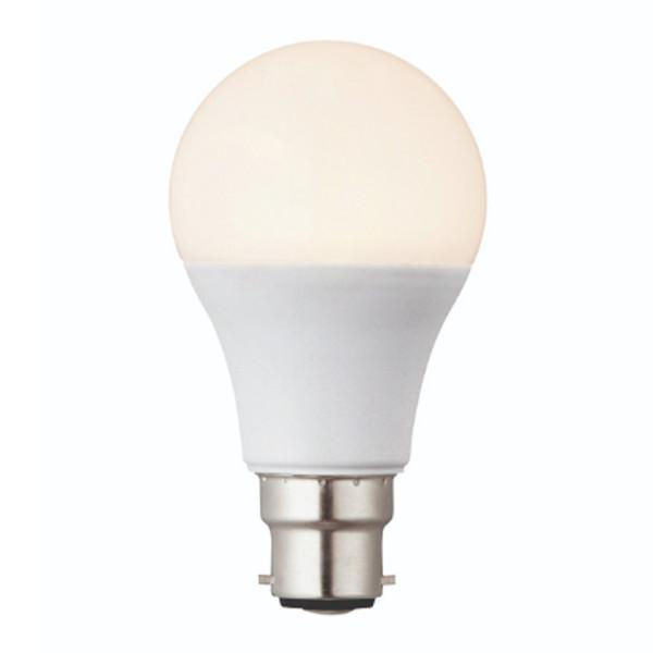 LED Lamp Bulb - Dimmable 60W Equivalent BC Cap