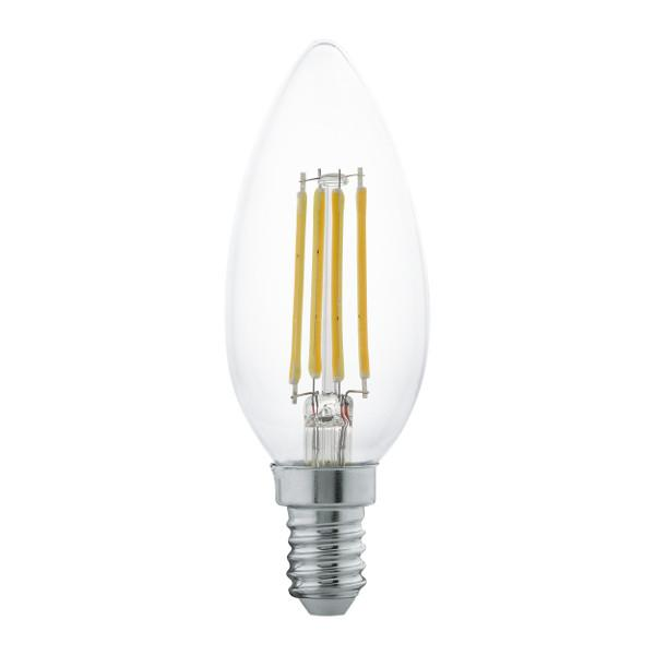 18 x LED Lamp Bulb - E14 Candle Filament