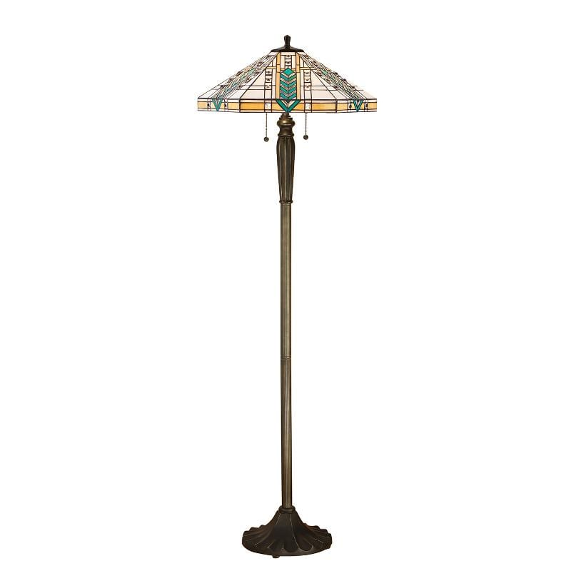 Lloyd Tiffany Floor Lamp (FB05 base) by Interiors 1900