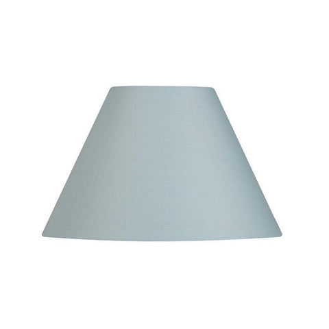 200d6044413 Lamp Shade - Cotton Coolies Light Blue Rolled Edge Hard Lining S501 5 LB