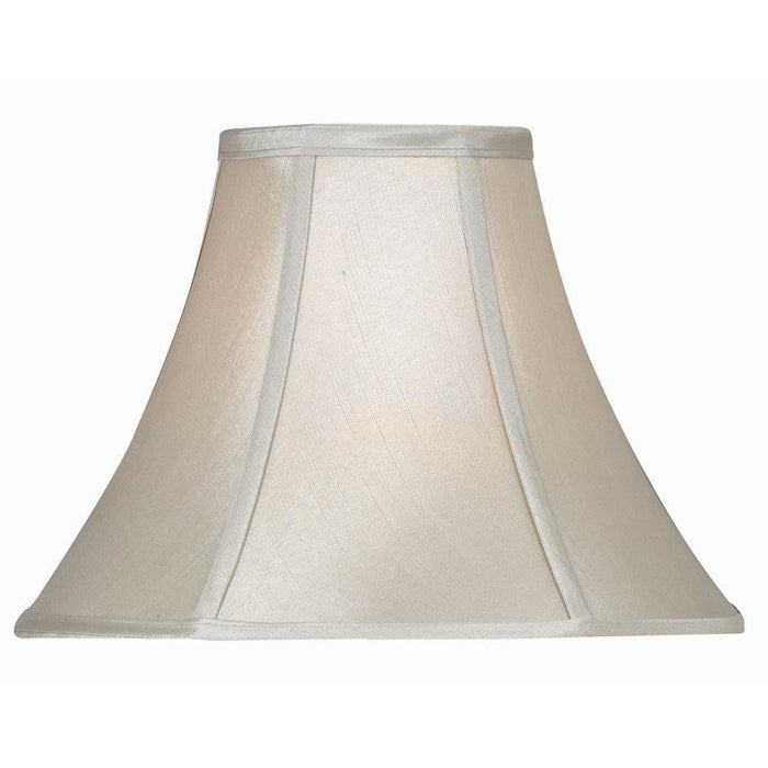 Lamp Shade - Empire Soft Grey Faux Silk Lined S752/16 GR