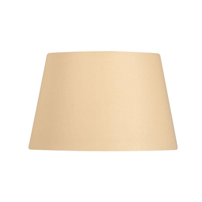 Lamp Shade - Cotton Drum Beige Rolled Edge Hard Lining S901/16 BEIGE