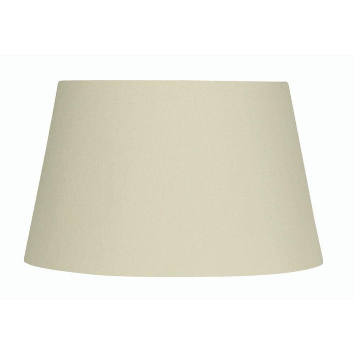 Lamp Shade - Cotton Drum Cream Rolled Edge Hard Lining S901/20 CREAM