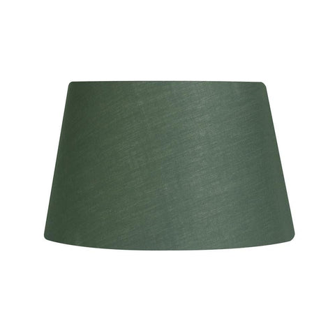 c58fd1473bb Lamp Shade - Cotton Drum Beige Rolled Edge Hard Lining S901 14 FOREST