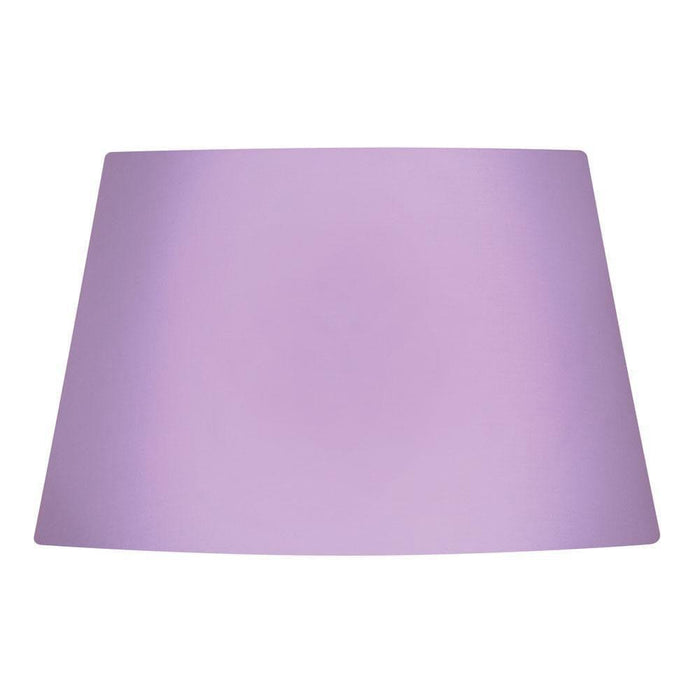 Lamp Shade - Cotton Drum Lilac Rolled Edge Hard Lining S901/14 LI