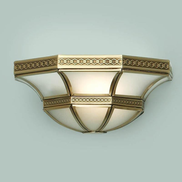Balfour Antique Brass Wall Light SN02W