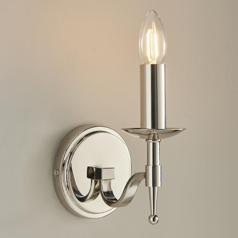 Stanford chrome Finish Single Wall Light CA1W1N