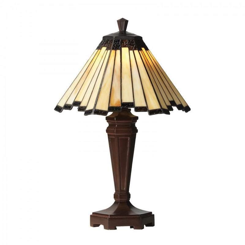Feste Medium Tiffany Table Lamp by Oaks Lighting