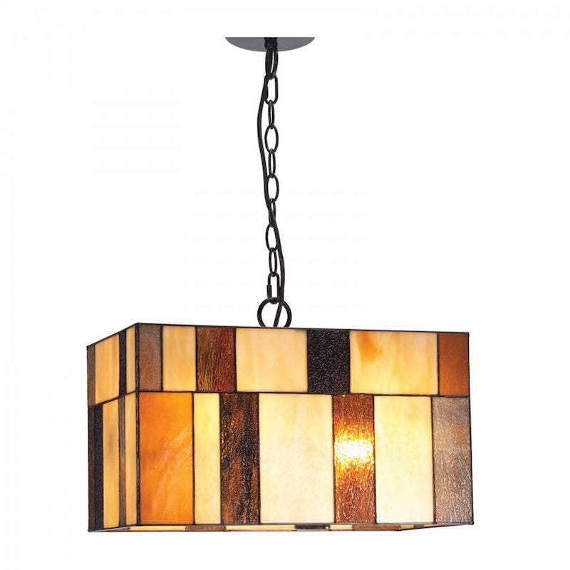 Osrick Tiffany Ceiling Light by Oaks Lighting