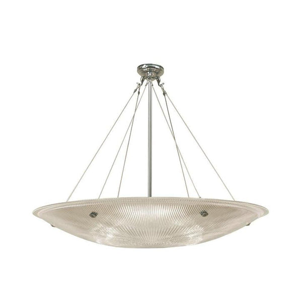 Art Deco Ceiling Light - Kansa Art Deco Prismatic Ceiling Light 800284