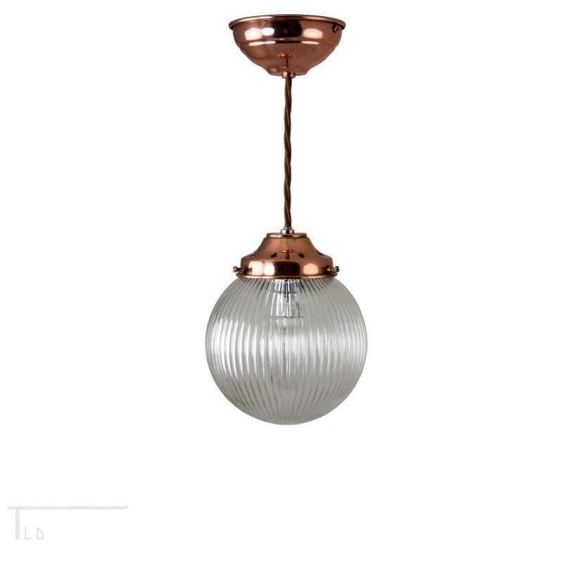 Kansa Small Prismatic Globe Pendant Ceiling Light Prism823 Tiffany Lighting Direct