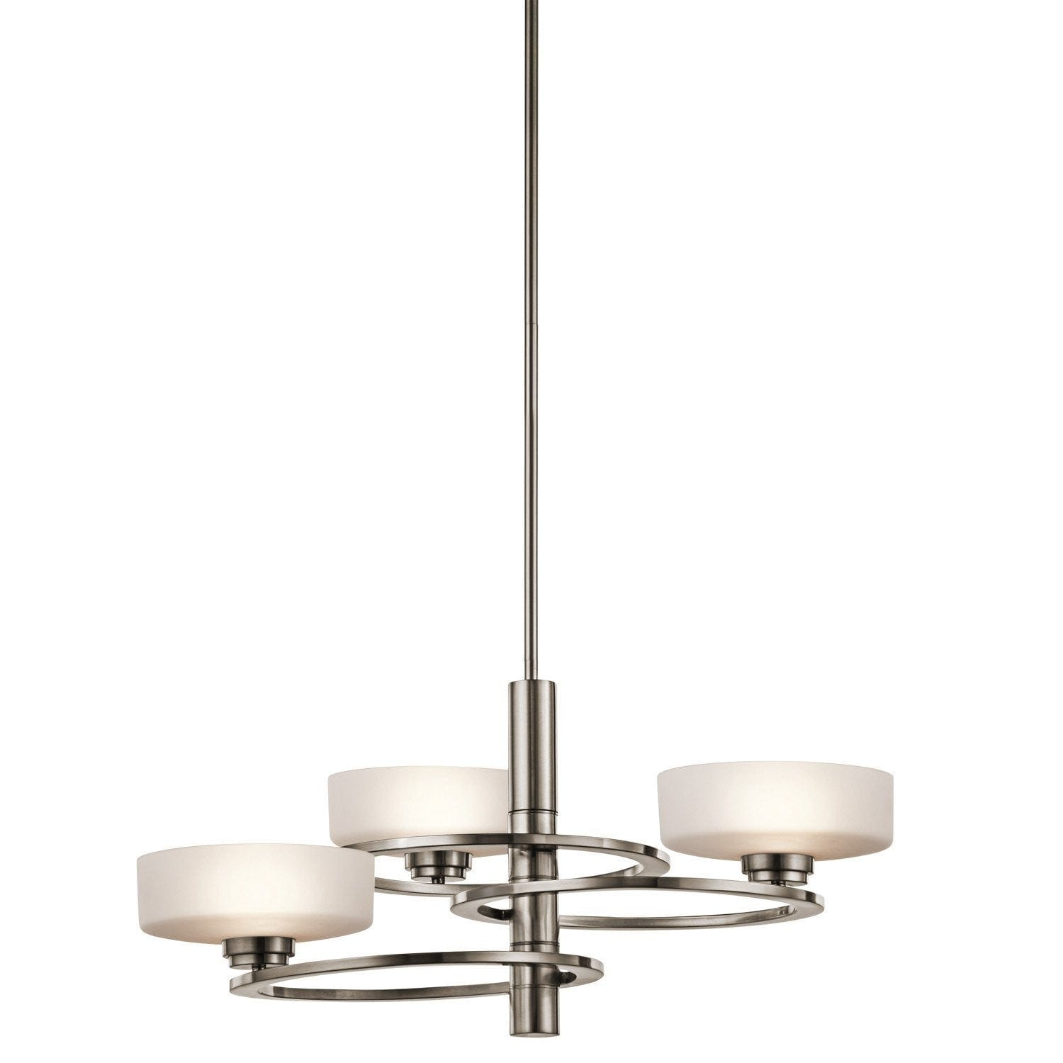 Kichler Aleeka Classic Pewter Finish 3 Light Chandelier KL/ALEEKA3