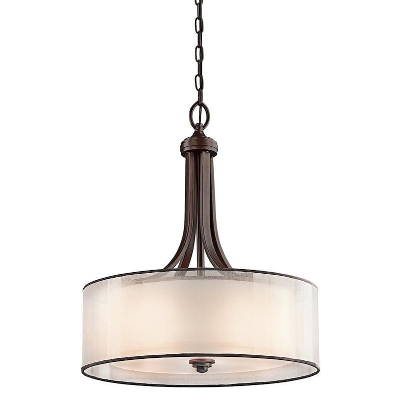 Kichler Lacey Mission Bronze Finish Large Pendant Ceiling Light Kl Lac Tiffany Lighting Direct