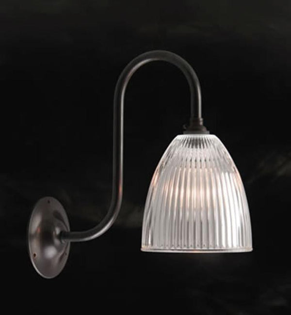 Art Deco Wall Light - Kansa Elongated Prismatic Wall Light WALL246