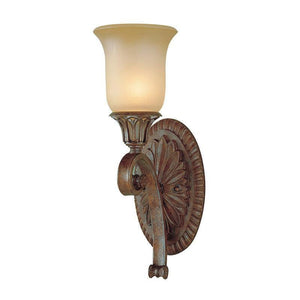 Art Deco Wall Lights - Feiss Stirling Castle British Bronze Finish Wall Light FE/STIRLINGCAS1