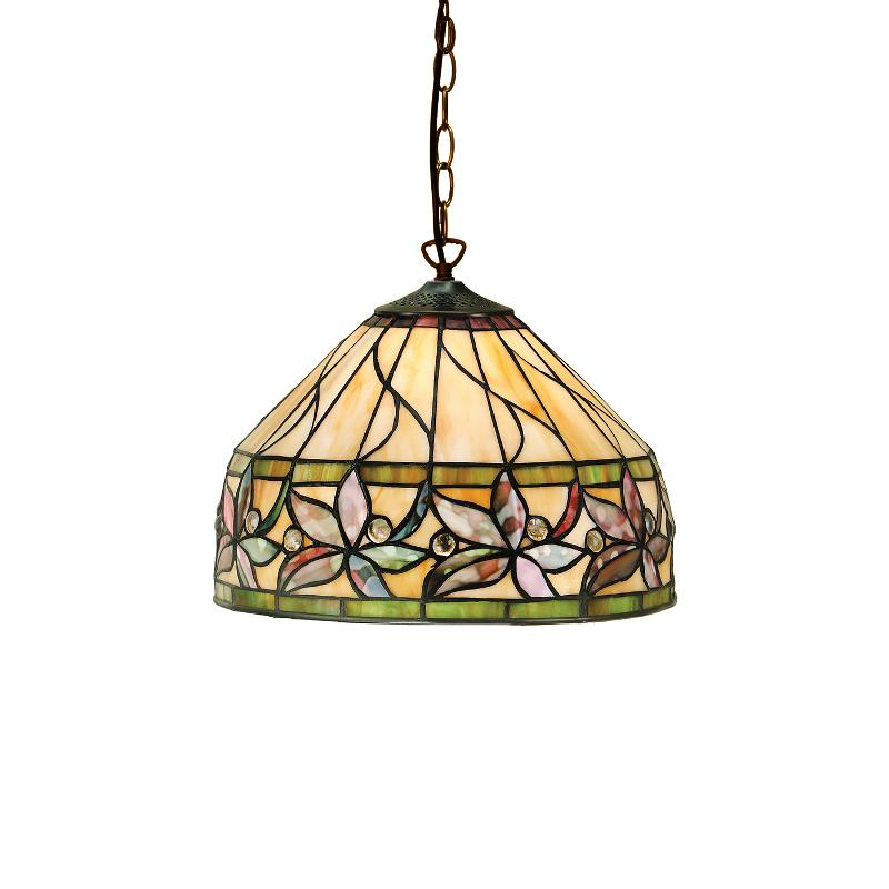 Ashtead Small Tiffany Ceiling Light