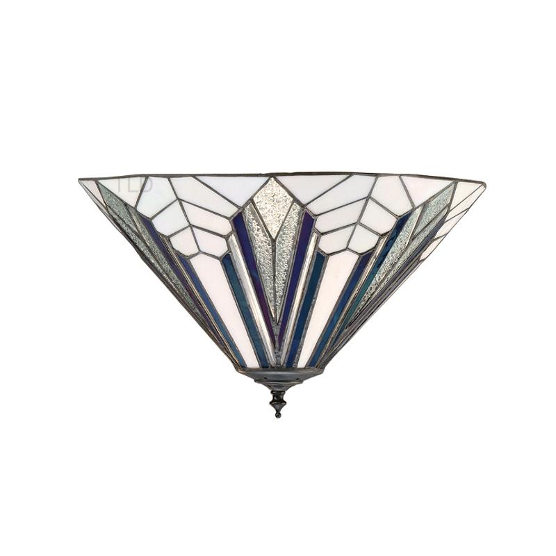 Astoria Tiffany Flush Ceiling Light