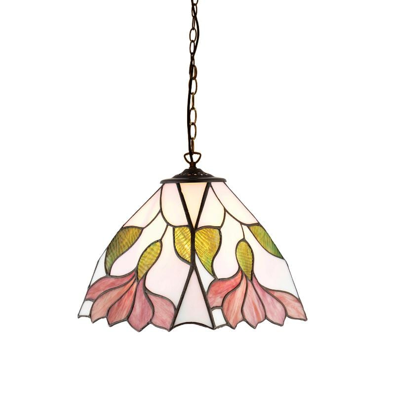 Botanica Small Tiffany Ceiling Light by Interiors 1900