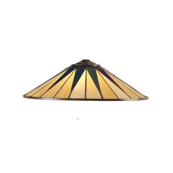 Dark Star Large Tiffany Shade by Interiors 1900