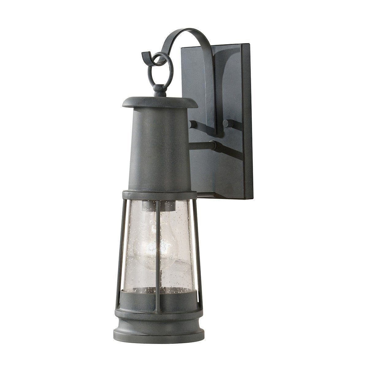 Elstead Chelsea Harbour Storm Cloud Finish Outdoor Wall Lantern