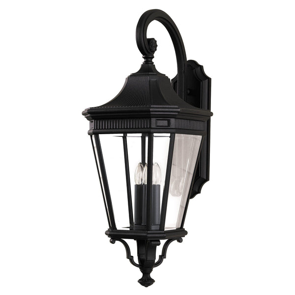 Elstead Cotswold Lane Black Large Outdoor Wall Lantern