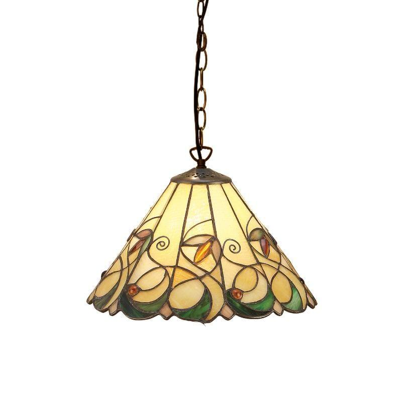 Jamelia Small Tiffany Pendant Light by Interiors 1900