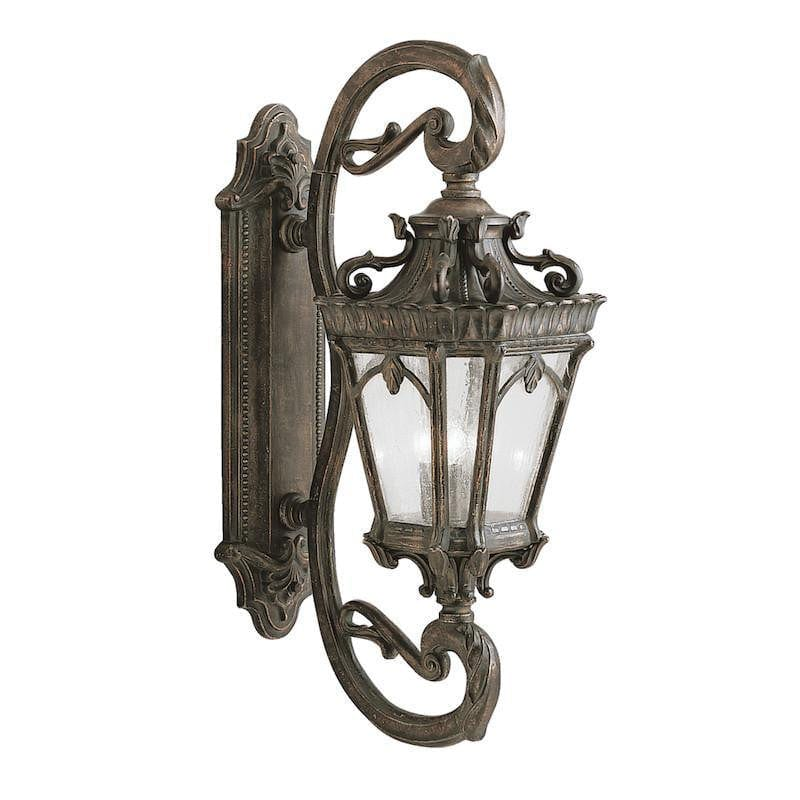 Elstead Tournai Londonderry Finish Grand Outdoor Wall Lantern