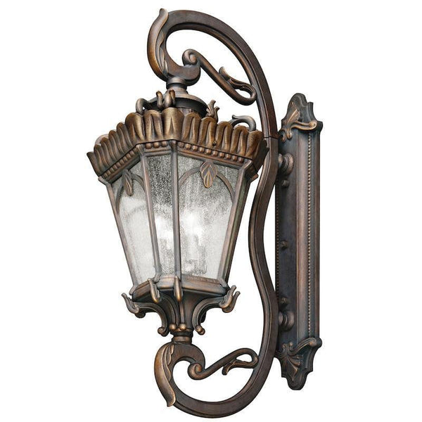 Elstead Tournai Londonderry Finish Grand Extra Large Outdoor Wall Lantern