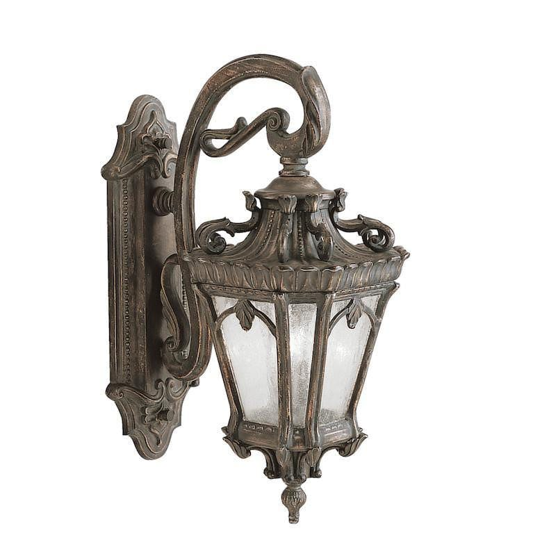 Elstead Tournai Londonderry Finish Large Outdoor Wall Lantern