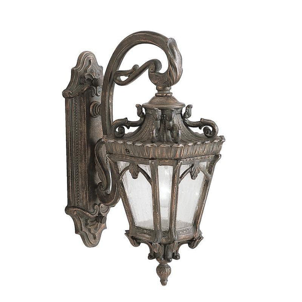 Elstead Tournai Londonderry Finish Medium Outdoor Wall Lantern