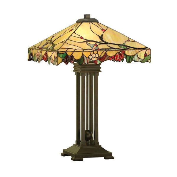Large Tiffany Lamps - Arbois Tiffany Lamp 63909