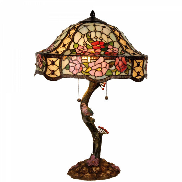 Large Tiffany Lamps - Aviary Tiffany Lamp