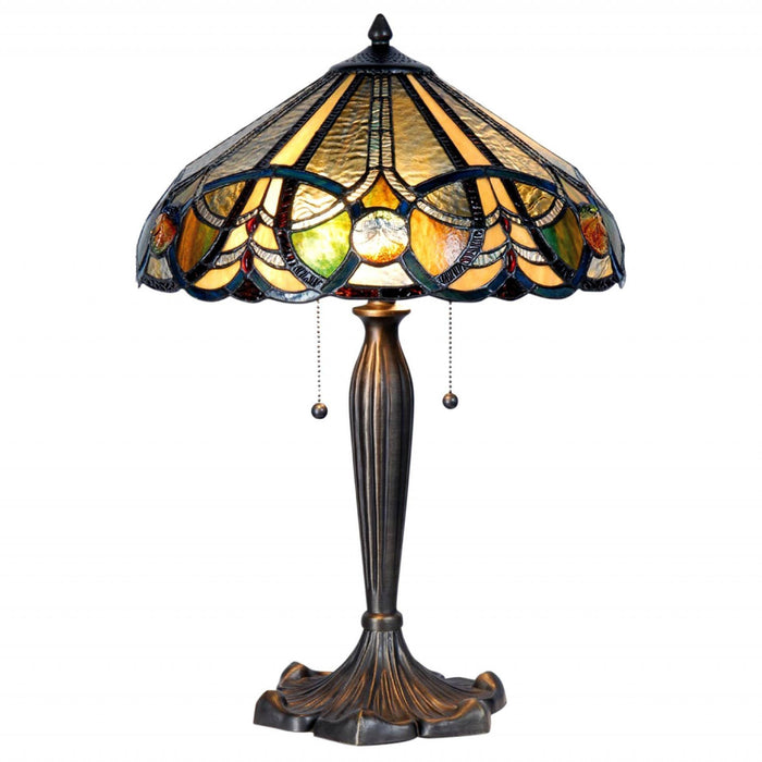 Barnstaple Tiffany Table Lamp 5LL-5299