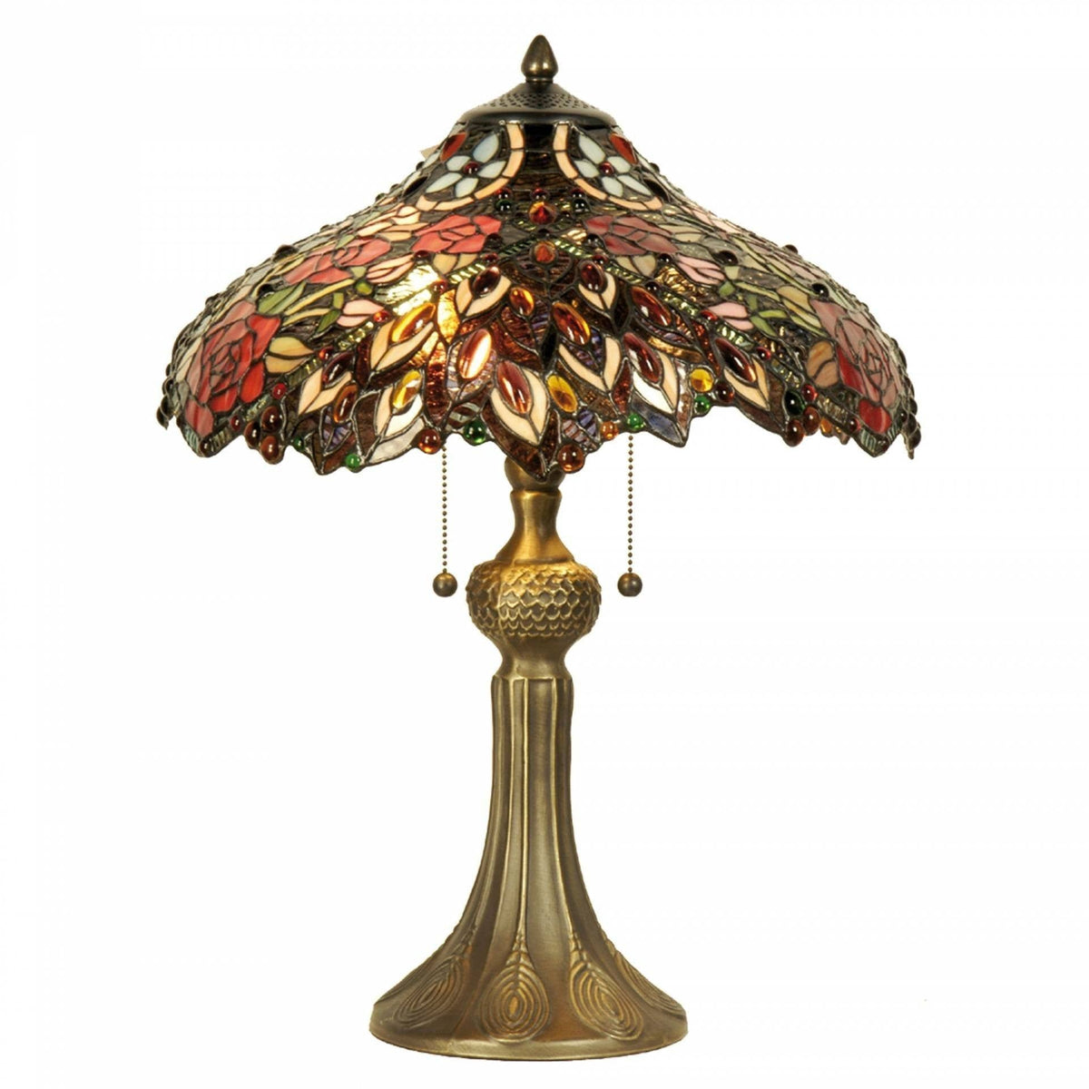Large Tiffany Lamps - Chester Tiffany Lamp