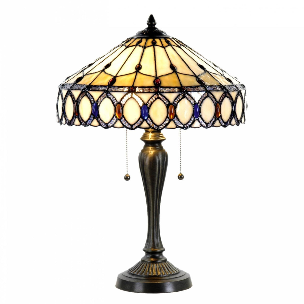 Large Tiffany Lamps - Chichester Tiffany Lamp