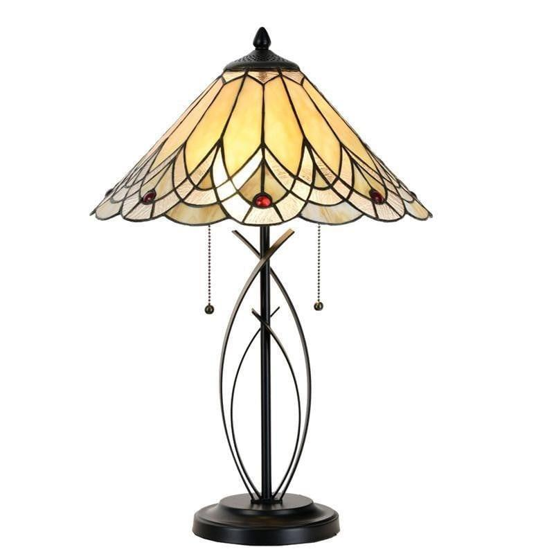 Large Tiffany Lamps - Harrogate Tiffany Lamp 5LL-5186