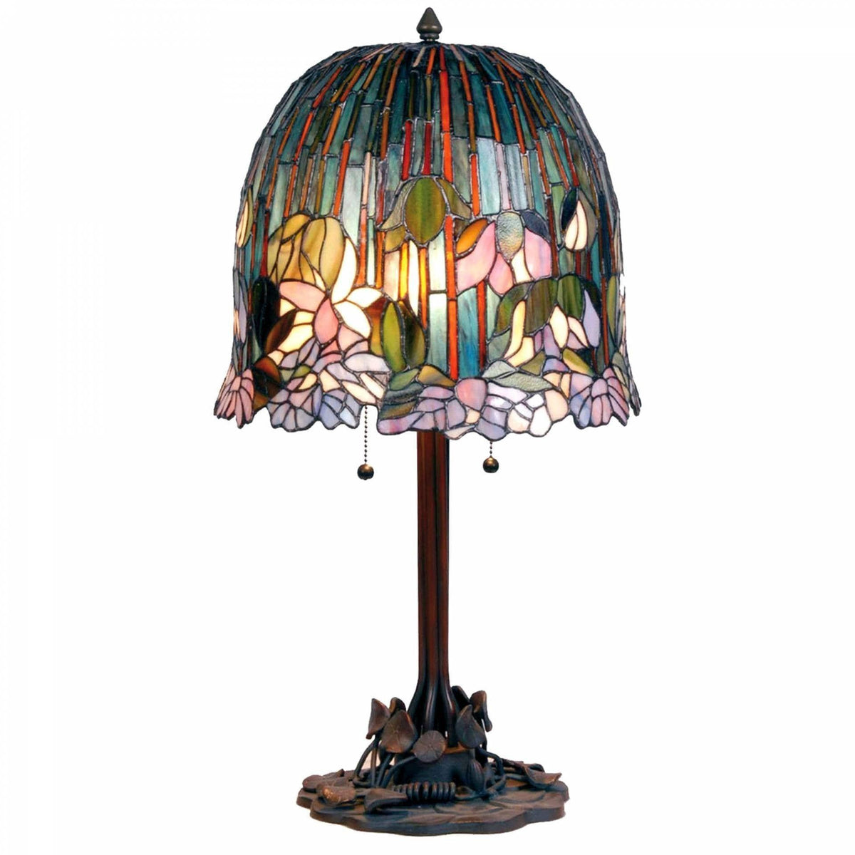 Large Tiffany Lamps - Iris Tiffany Lamp
