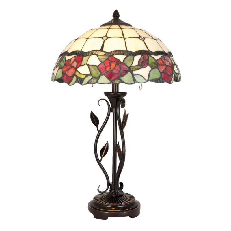 Large Tiffany Lamps - Leicester Tiffany Lamp