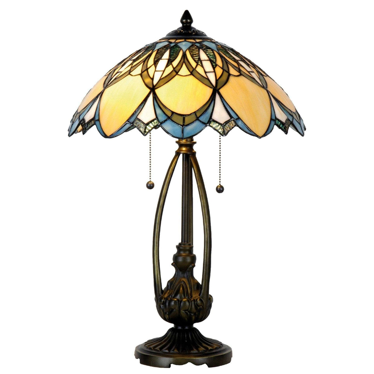 Large Tiffany Lamps - Newark Tiffany Lamp