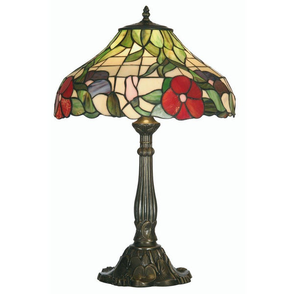 Large Tiffany Lamps - Oaks Peonies Tiffany Lamp OT 1345/16TL