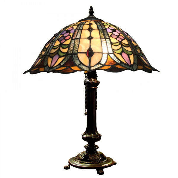 Large Tiffany Lamps - Plymouth Tiffany Lamp