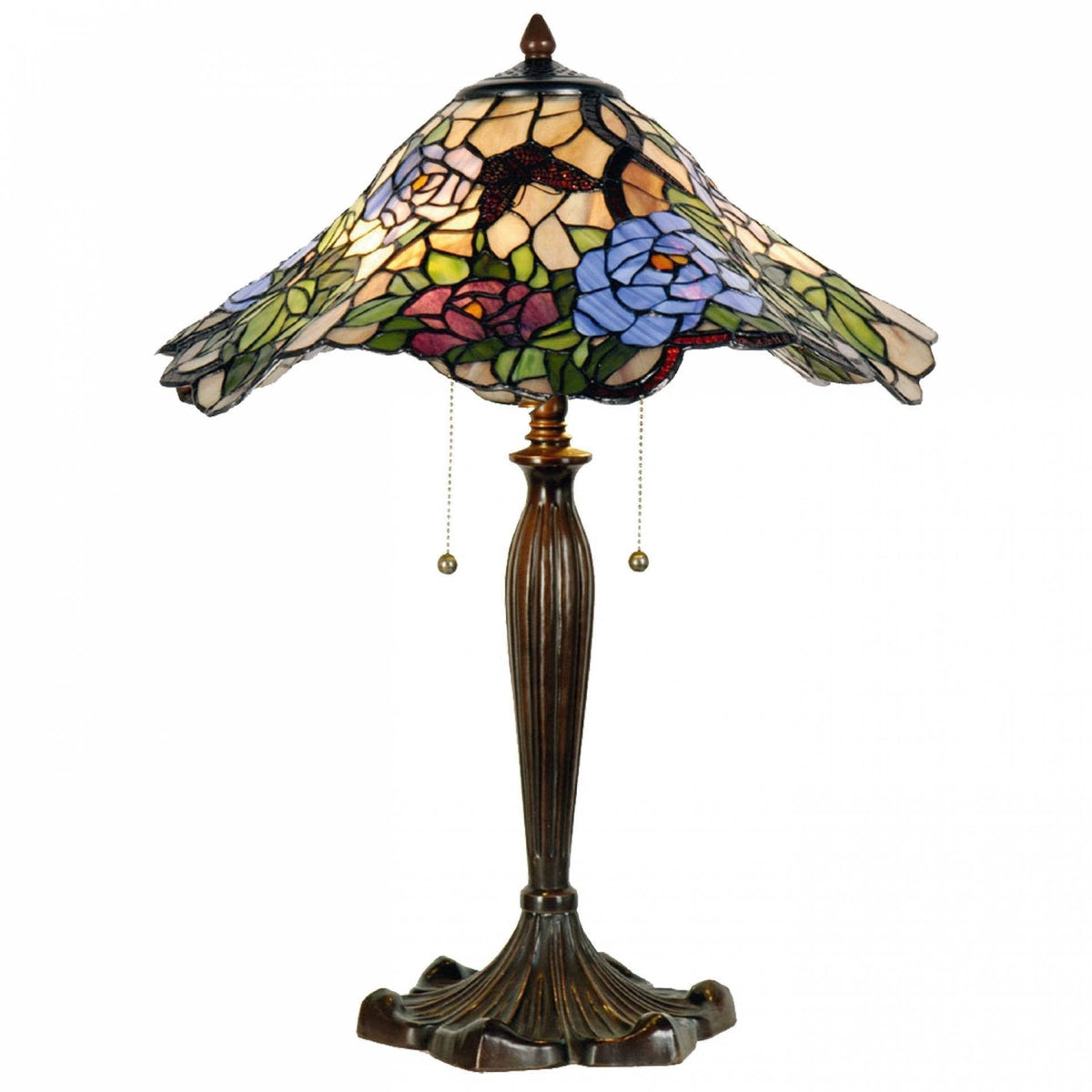 Large Tiffany Lamps - Poole Tiffany Lamp