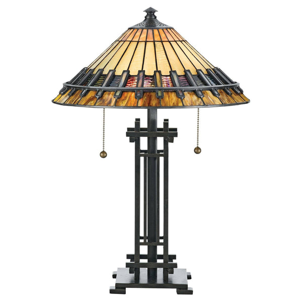 Large Tiffany Lamps - Quoizel Tiffany Chastain Large Table Lamp QZ/CHASTAIN/TL