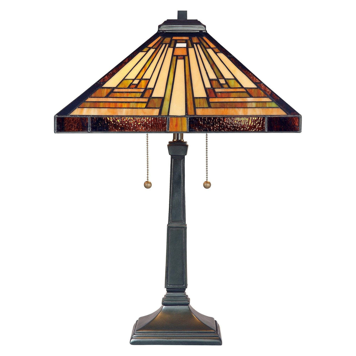 Large Tiffany Lamps - Quoizel Tiffany Stephen Large Table Lamp QZ/STEPHEN/TL