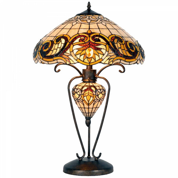 Large Tiffany Lamps - Shaftesbury Tiffany Lamp