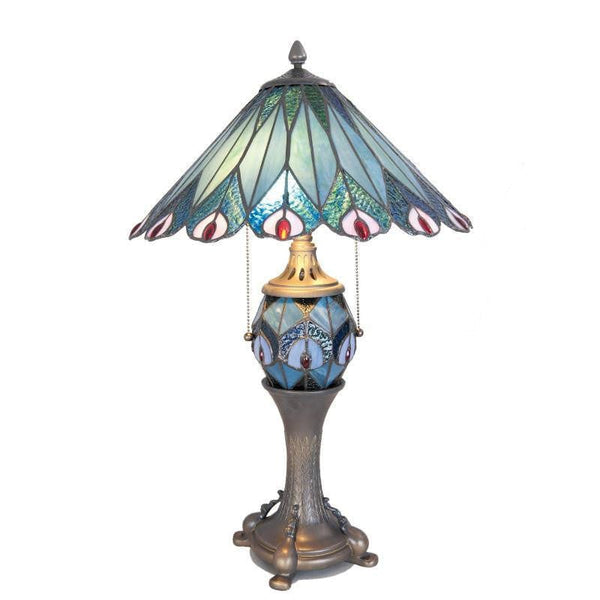 Large Tiffany Lamps - Stamford Tiffany Lamp