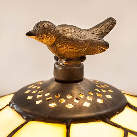 Large Tiffany Lamps - Tiffany Lamp Bird Finial