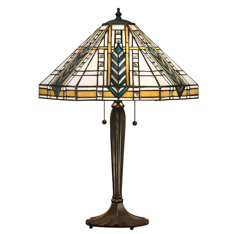 LLoyd Tiffany Table Lamp (TB05 Base) by Interiors 1900