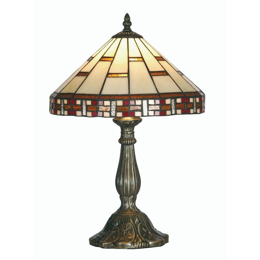 Medium Tiffany Lamps - Aremisa Medium Tiffany Lamp OT 8130/12TL By Oaks Lighting