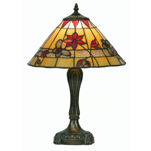 Medium Tiffany Lamps - Butterfly Tiffany Medium Table Lamp OT 2612/13TL